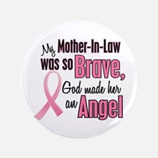 """Angel 1 (Mother-In-Law BC) 3.5"""" Button"""