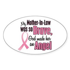 Angel 1 (Mother-In-Law BC) Oval Decal