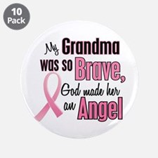 "Angel 1 (Grandma BC) 3.5"" Button (10 pack)"