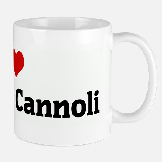 I Love My Little Cannoli Mug