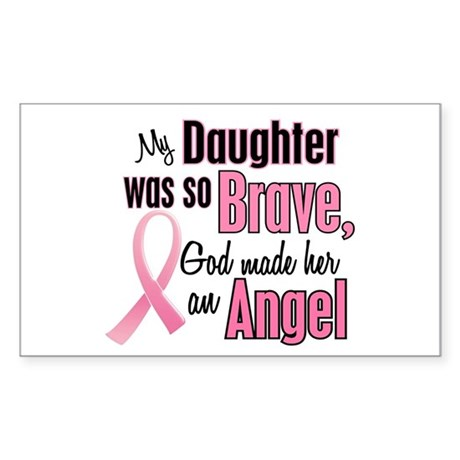 Angel 1 (Daughter BC) Rectangle Sticker