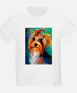 Yorkshire Terrier #1  Kids T-Shirt