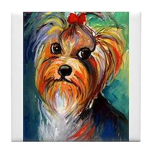 Yorkshire Terrier #1  Tile Coaster