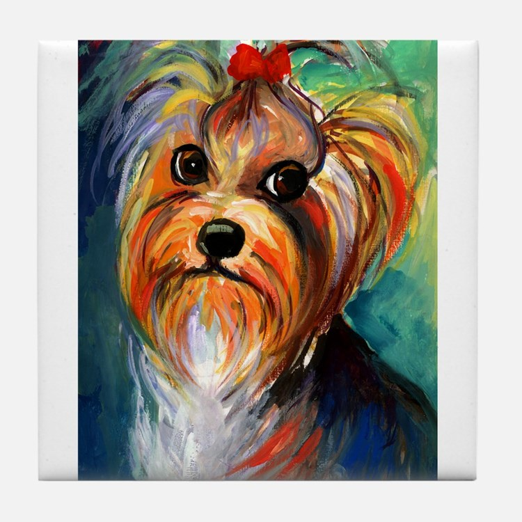 Yorkshire Terrier #1  Tile Coaster