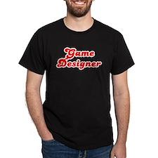 Retro Game designer (Red) T-Shirt