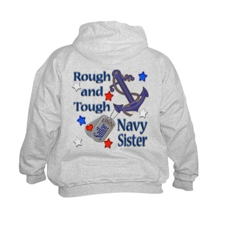 Anchor Sailor Sister Kids Sweatshirt