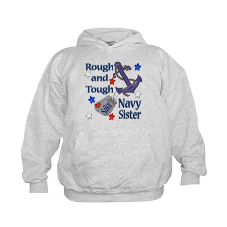 Anchor Sailor Sister Kids Hoodie
