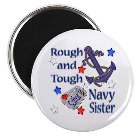 "Anchor Sailor Sister 2.25"" Magnet (10 pack)"