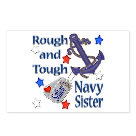 Anchor Sailor Sister Postcards (Package of 8)