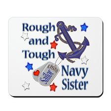 Anchor Sailor Sister Mousepad