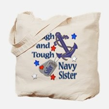 Anchor Sailor Sister Tote Bag