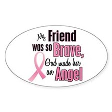 Angel 1 (Friend BC) Oval Decal