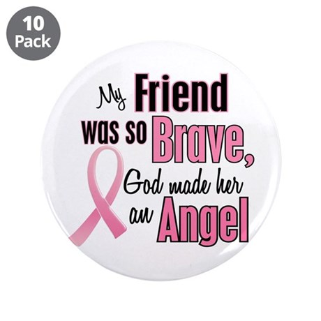 "Angel 1 (Friend BC) 3.5"" Button (10 pack)"
