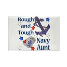 Anchor Sailor Aunt Rectangle Magnet