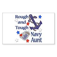 Anchor Sailor Aunt Rectangle Sticker 10 pk)