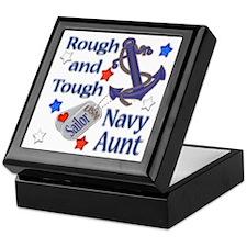 Anchor Sailor Aunt Keepsake Box