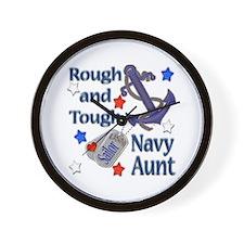 Anchor Sailor Aunt Wall Clock