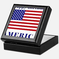 Happy Birthday America Keepsake Box