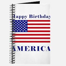 Happy Birthday America Journal