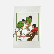 Outfoor field hockey Rectangle Magnet