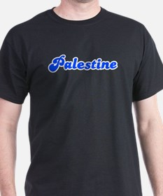 Retro Palestine (Blue) T-Shirt