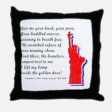 Unique Us flag Throw Pillow