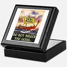 DO NOT ANGER THE GODS Keepsake Box