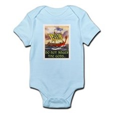 DO NOT ANGER THE GODS Infant Bodysuit