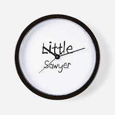Little Sawyer Wall Clock