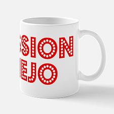Retro Mission Viejo (Red) Mug