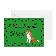 New Collie Greeting Card