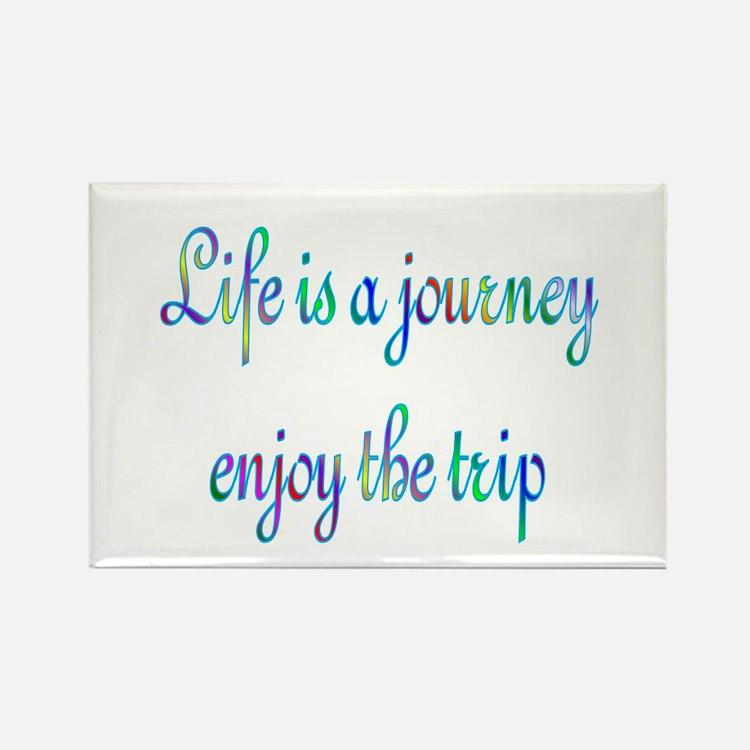 Life Journey Rectangle Magnet (100 pack)