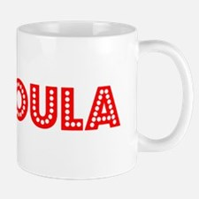Retro Missoula (Red) Mug