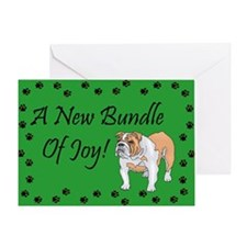 New Bulldog Greeting Card