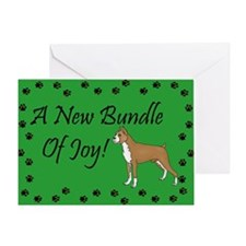 New Boxer Greeting Card