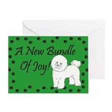 New Bichon Frise Greeting Card