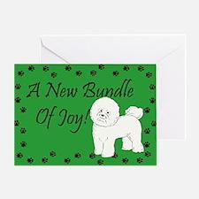 New Bichon Frise Greeting Card
