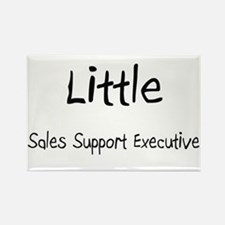Little Sales Support Executive Rectangle Magnet