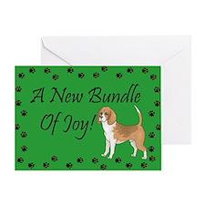 New Beagle Greeting Card