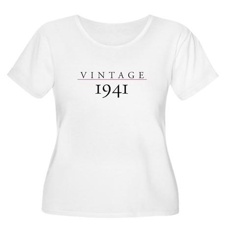 Vintage 1941 Women's Plus Size Scoop Neck T-Shirt