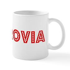 Retro Monrovia (Red) Mug