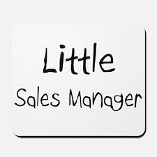 Little Sales Manager Mousepad