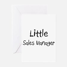 Little Sales Manager Greeting Cards (Pk of 10)