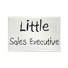 Little Sales Executive Rectangle Magnet