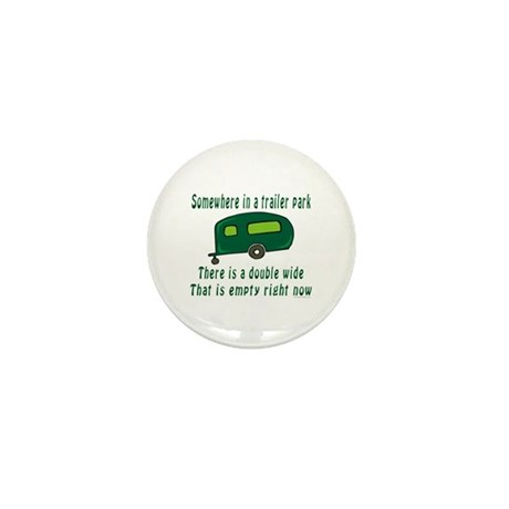 Empty Double Wide Mini Button (100 pack)