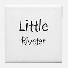 Little Riveter Tile Coaster