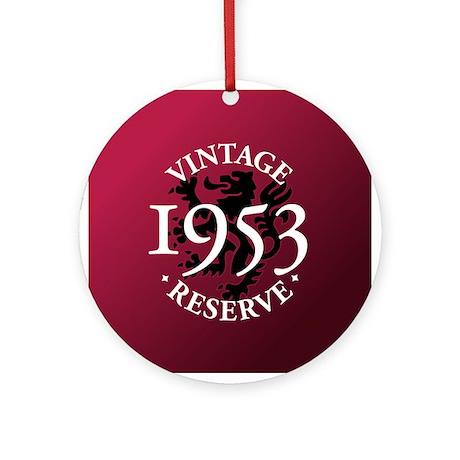 Vintage Reserve 1953 Ornament (Round)