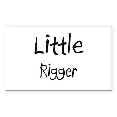 Little Rigger Rectangle Sticker