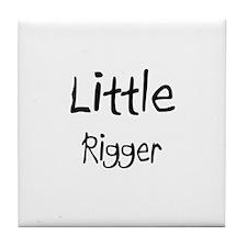 Little Rigger Tile Coaster