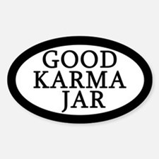 Good Karma Jar Tip Jar Decal